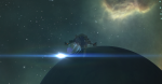 eve online sacrelige spaceship around planet in hisec